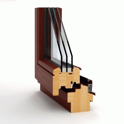 Drewniany profil okienny z Witraz.eu