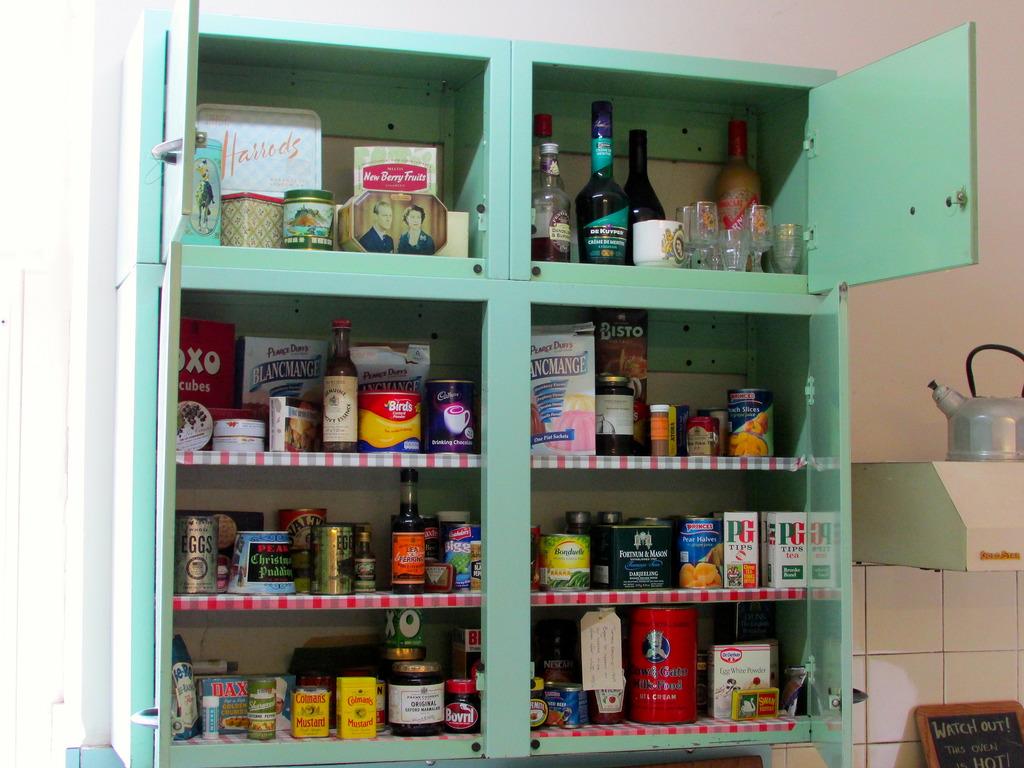 styl retro - uchwyty do szafki kuchennej