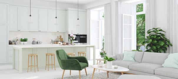 nowoczesne białe meble do salonu