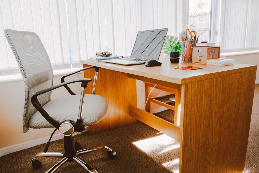 Obrotowe krzesło do biurka